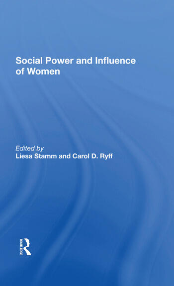 Social Power And Influence Of Women book cover