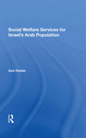 Social Welfare Services For Israel's Arab Population book cover