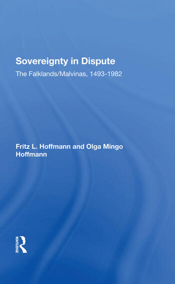Sovereignty In Dispute The Falklands/malvinas, 14931982 book cover