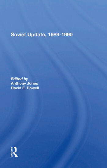 Soviet Update, 19891990 book cover