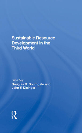 Sustainable Resource Development In The Third World book cover