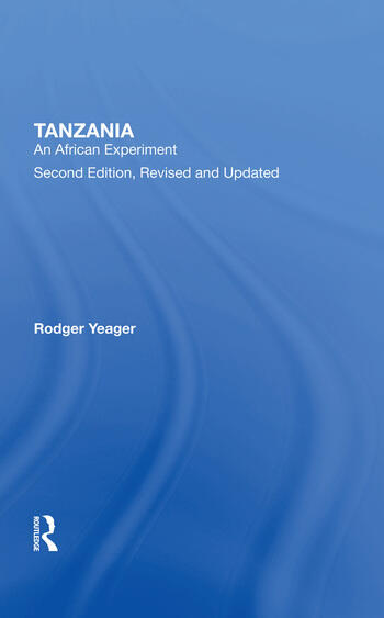 Tanzania An African Experiment book cover