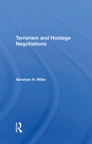 Terrorism And Hostage Negotiations book cover