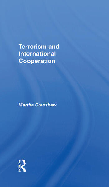 Terrorism And International Cooperation book cover