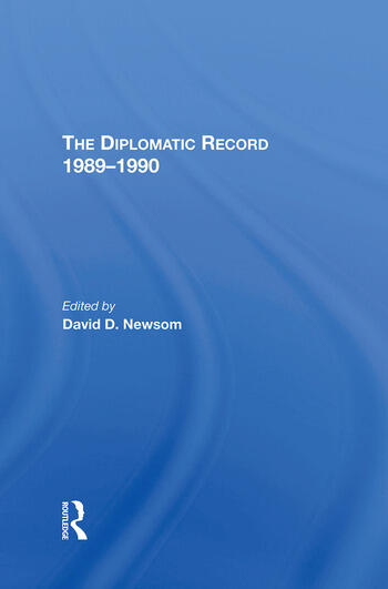 The Diplomatic Record 19891990 book cover