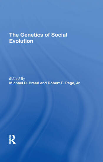 The Genetics Of Social Evolution book cover