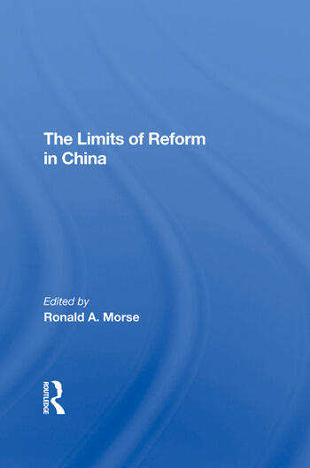 The Limits Of Reform In China book cover