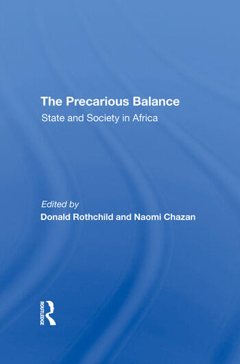 The Precarious Balance State And Society In Africa book cover