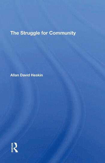 The Struggle For Community book cover