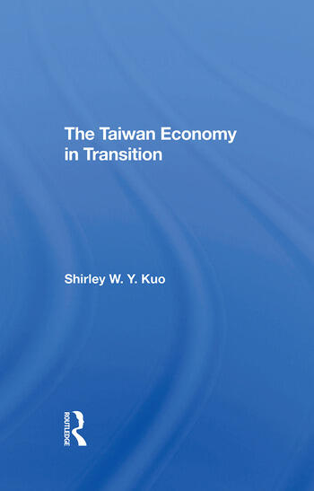 The Taiwan Economy In Transition book cover