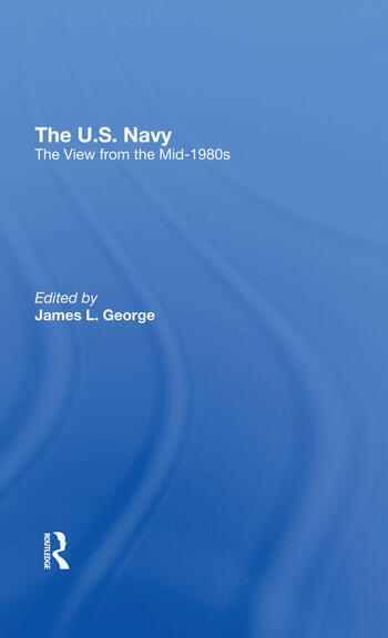 The U.s. Navy The View From The Mid1980s book cover