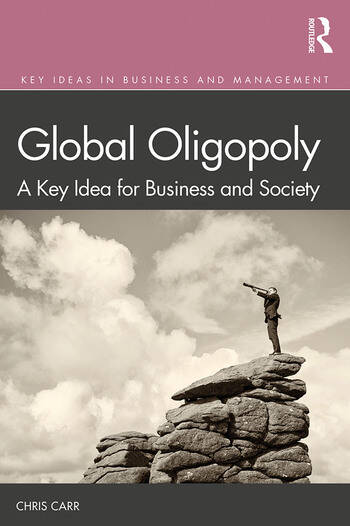 Global Oligopoly A Key Idea for Business and Society book cover
