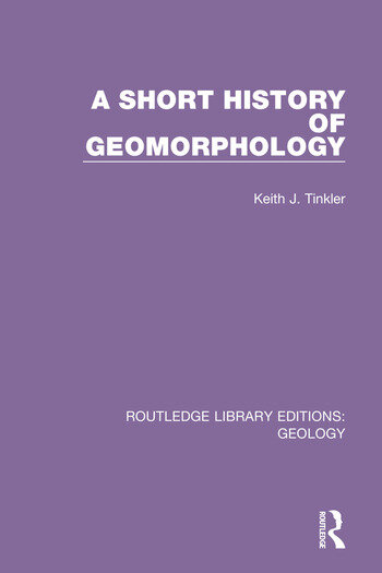 A Short History of Geomorphology book cover
