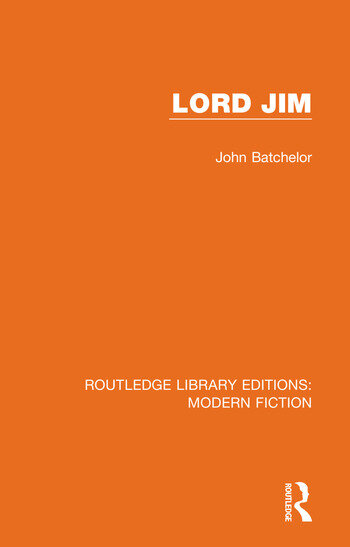 Lord Jim book cover