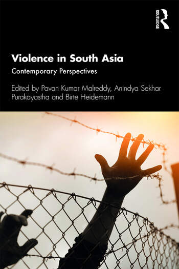 Violence in South Asia Contemporary Perspectives book cover