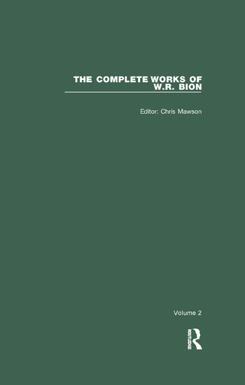 The Complete Works of W.R. Bion Volume 2 book cover