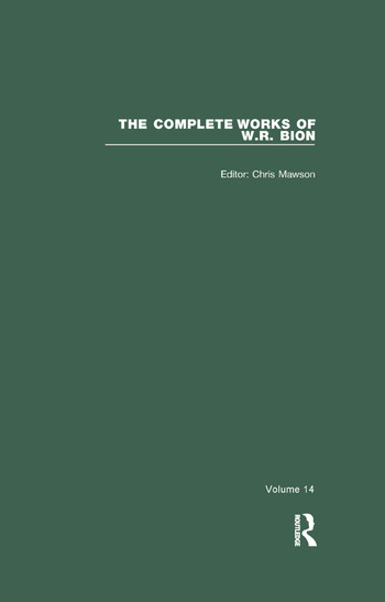 The Complete Works of W.R. Bion Volume 14 book cover