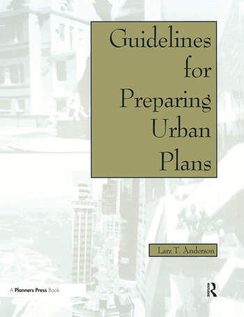 Guidelines for Preparing Urban Plans book cover