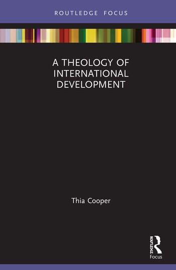 A Theology of International Development book cover