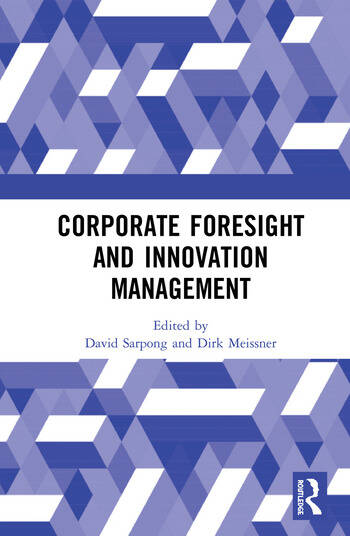 Corporate Foresight and Innovation Management book cover