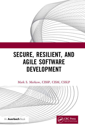 Secure, Resilient, and Agile Software Development book cover