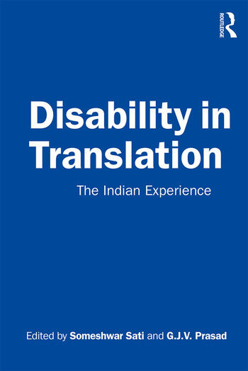 Disability in Translation The Indian Experience book cover