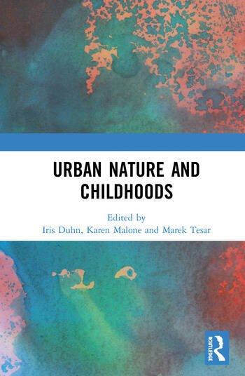 Urban Nature and Childhoods book cover