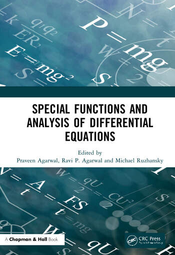 Special Functions and Analysis of Differential Equations book cover
