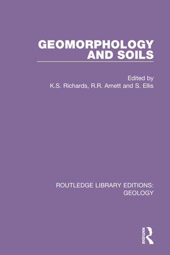 Geomorphology and Soils book cover
