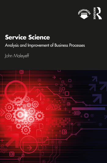 Service Science Analysis and Improvement of Business Processes book cover