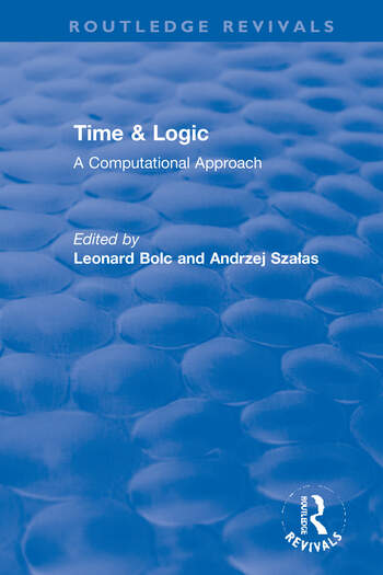 Time & Logic A Computational Approach book cover