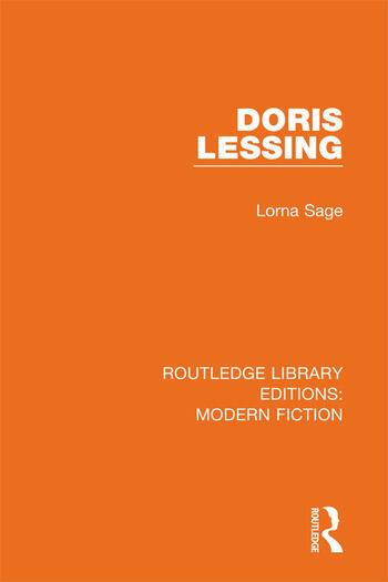 Doris Lessing book cover