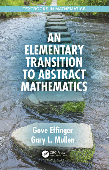 An Elementary Transition to Abstract Mathematics book cover