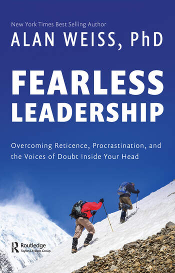 Fearless Leadership Overcoming Reticence, Procrastination, and the Voices of Doubt Inside Your Head book cover