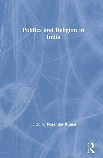 Politics and Religion in India book cover