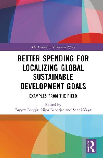 Better Spending for Localizing Global Sustainable Development Goals Examples from the Field book cover