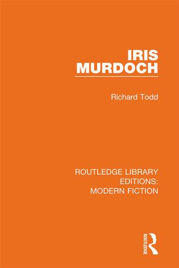Iris Murdoch book cover