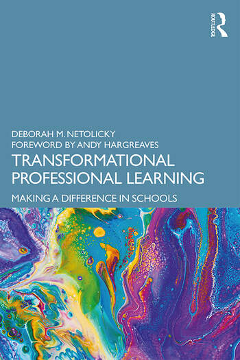 Transformational Professional Learning Making a Difference in Schools book cover