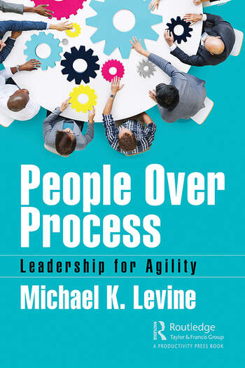 People Over Process Leadership for Agility book cover