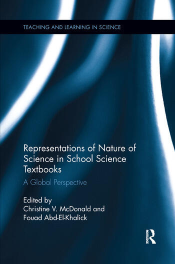 Representations of Nature of Science in School Science Textbooks A Global Perspective book cover