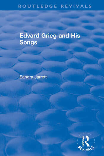 Edvard Grieg and His Songs book cover