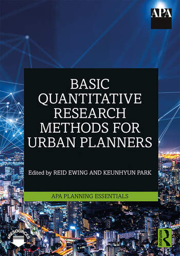 Basic Quantitative Research Methods for Urban Planners book cover