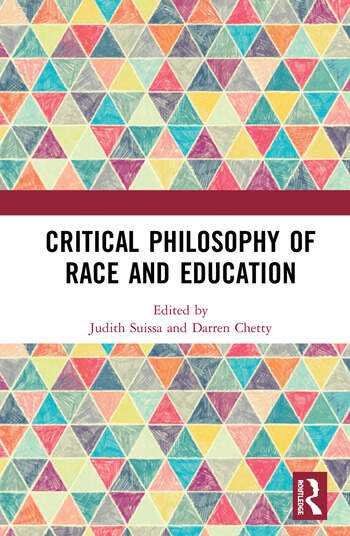 Critical Philosophy of Race and Education book cover
