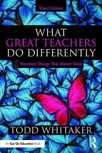 What Great Teachers Do Differently Nineteen Things That Matter Most book cover