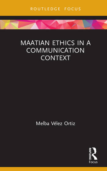 Maatian Ethics in a Communication Context book cover
