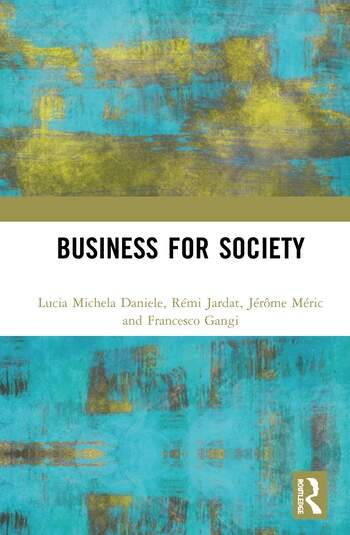 Business for Society book cover