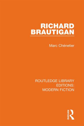 Richard Brautigan book cover