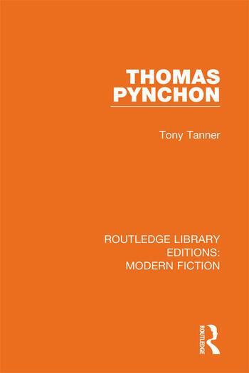 Thomas Pynchon book cover