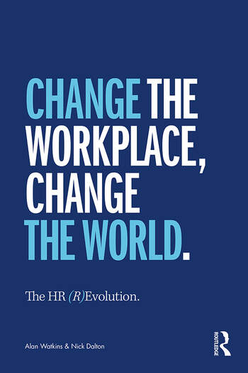The HR (R)Evolution It's Time to Change the Workplace and Change the World book cover