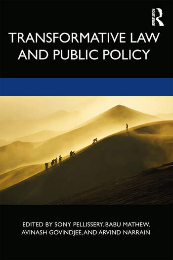 Transformative Law and Public Policy book cover